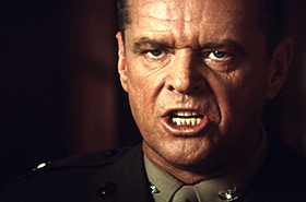 A FEW GOOD MEN, A, Jack Nicholson, 1992, (c) Columbia/courtesy Everett Collection