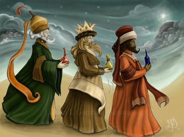How did the wise men know